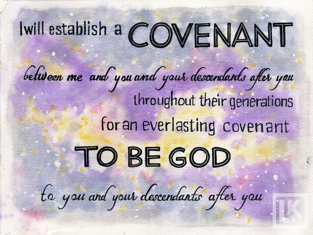 Genesis 1:17 Bible verse art