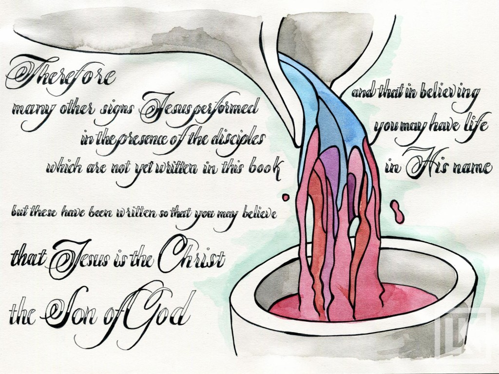 John 20:31 Bible verse art