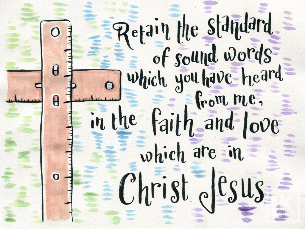 Bible verse illustration-Theme verse 2 Timothy