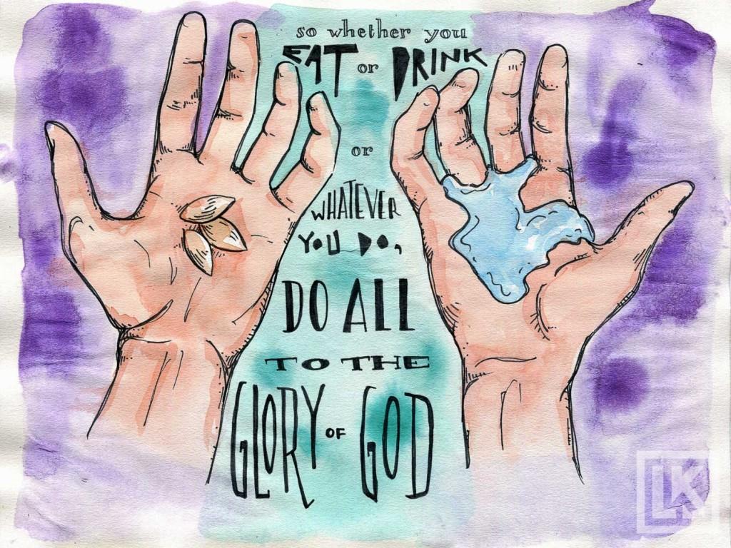 1 Corinthians 10:1 bible verse art