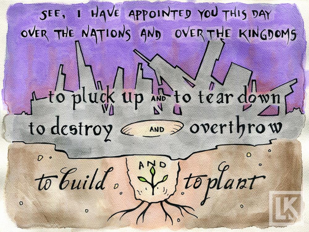 Jeremiah-1:10 Bible verse art