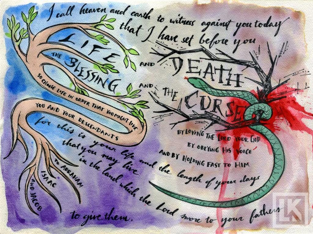 bible art-theme verse deuteronomy
