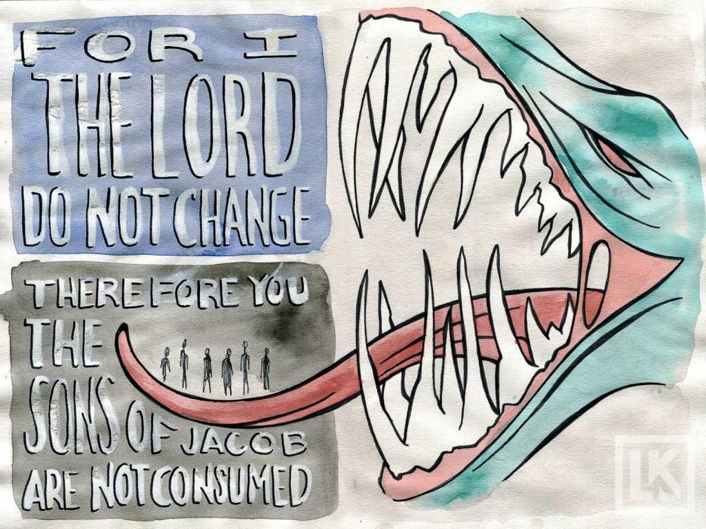 Malachi 3:6 Bible verse art