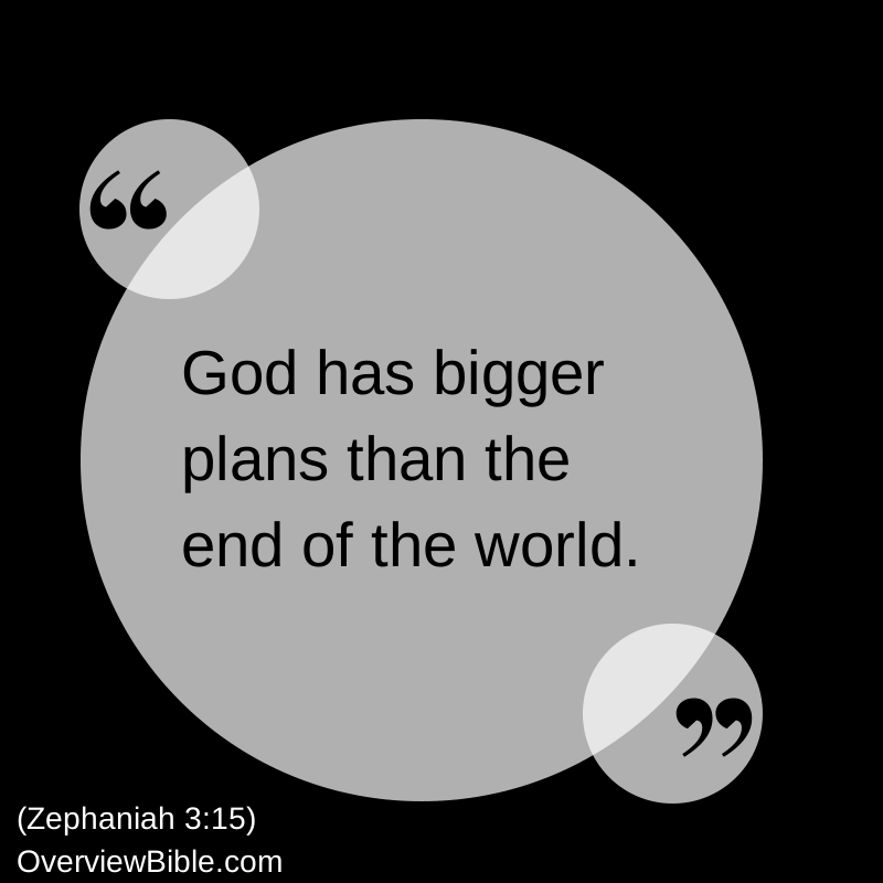 Zephaniah Book Of The Bible Overview