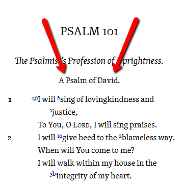 who wrote psalms
