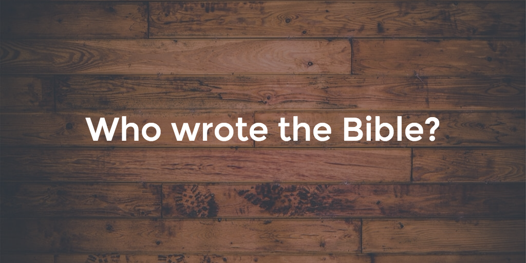 The 35 authors who wrote the Bible [chart + illustrations]