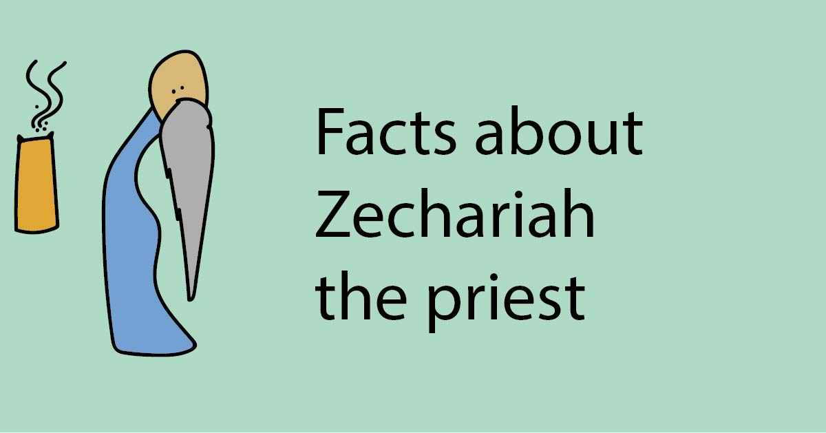 Facts about Zechariah (John the Baptist's Father)