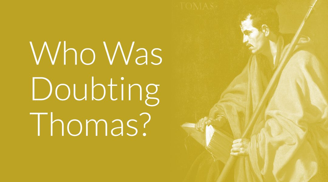 portrait of Doubting Thomas
