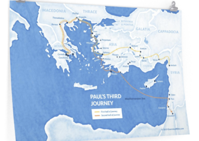 pauls-third-missionary-journey-poster